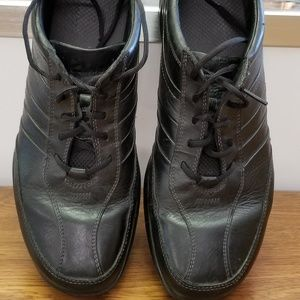 MEN'S CLARKS WAVE LEATHER WALKING SHOES  12M